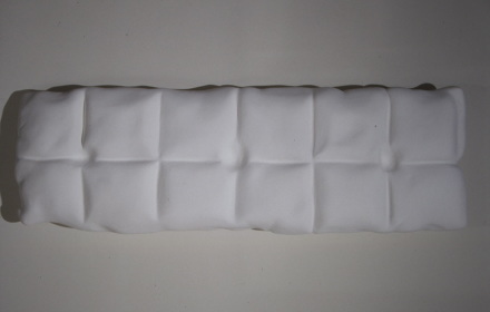 """antibacterial cushion"", 1997   29' H x 6ft L x 14"" deep    Collection Hirshhorn Museum and Sculpture Garden"