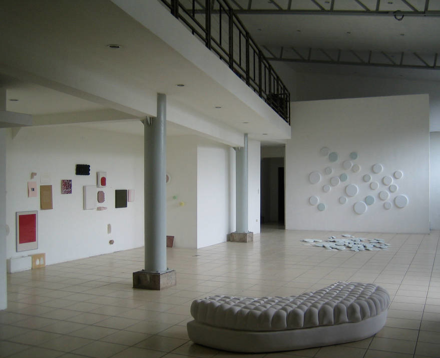Main room installation view