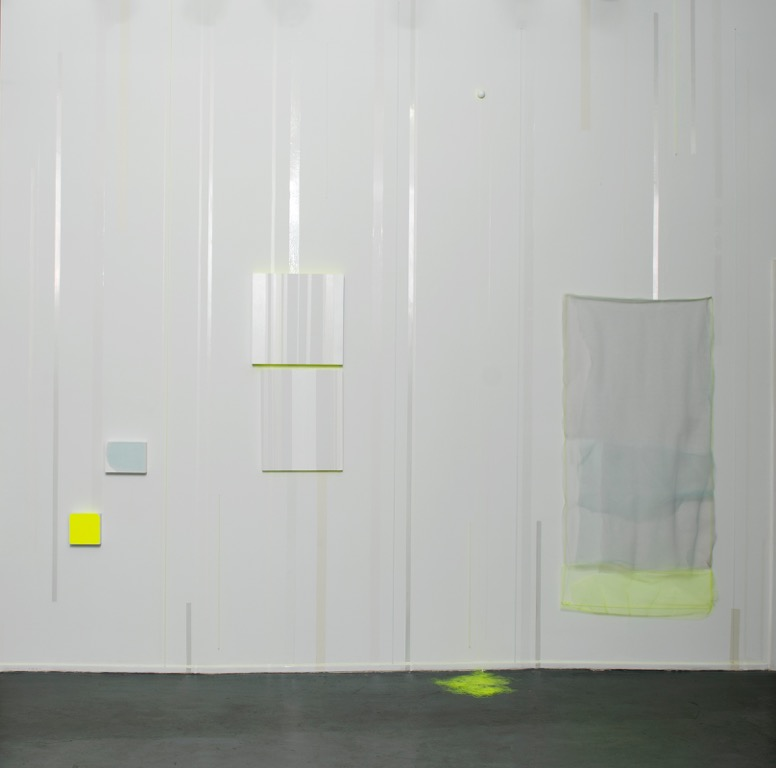 Untitled Installation dimensions variable, wall 13 ft x 20 ft  mixed media