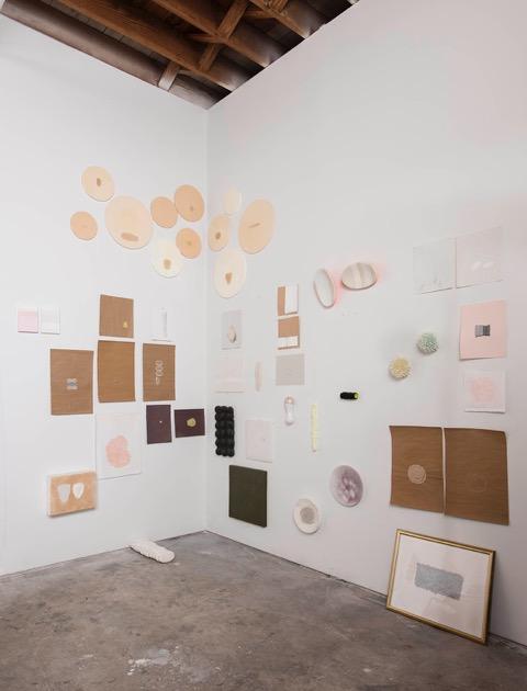 corner view (various works) miami studio  2015