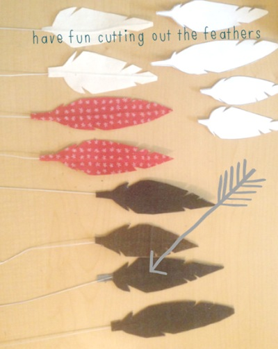 cut out feather
