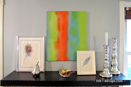 Kitchen art display