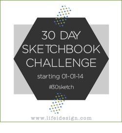 30 sketchbook challenge