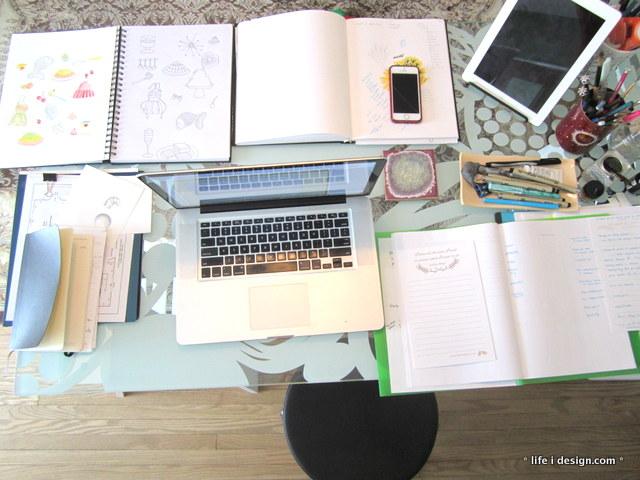 nicki's desk