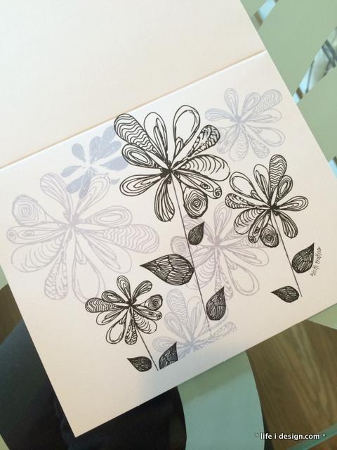 sketchy flowers nicki traikos