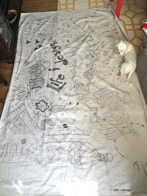 doodle tarp