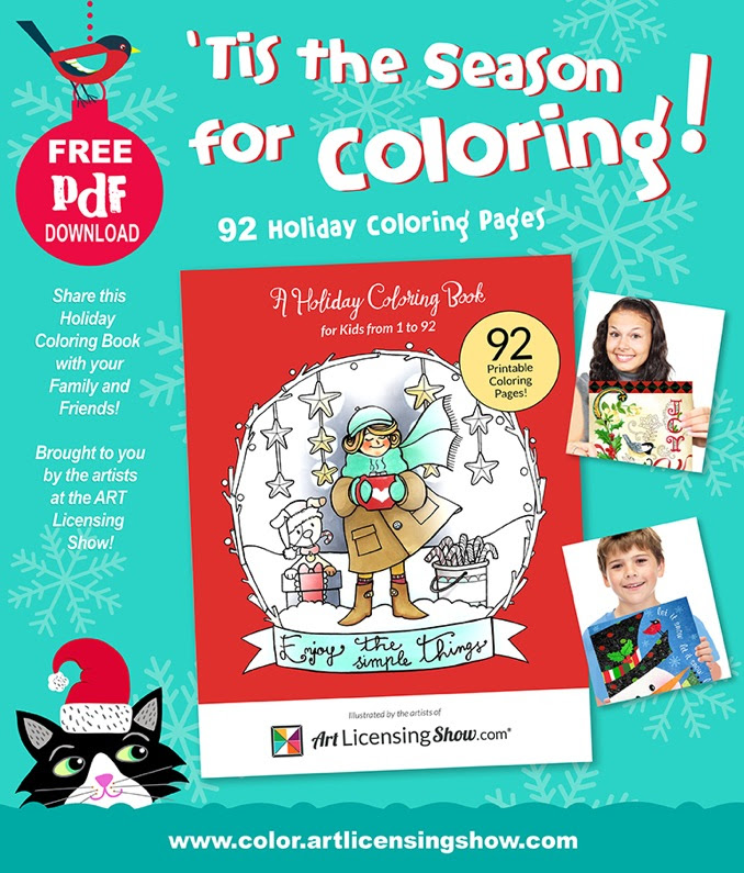 Free coloring book.  Download, print and enjoy! www.lifeidesign.com