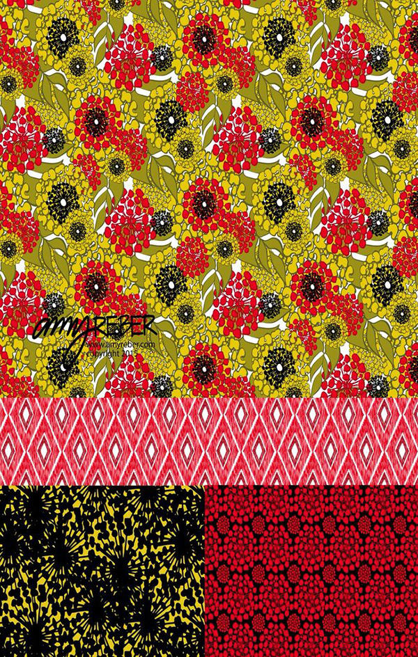 Surface Design by Amy Reber featured on life i design's Creative Women Series.