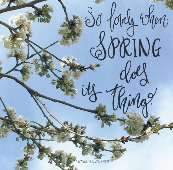 spring blossom by life i design
