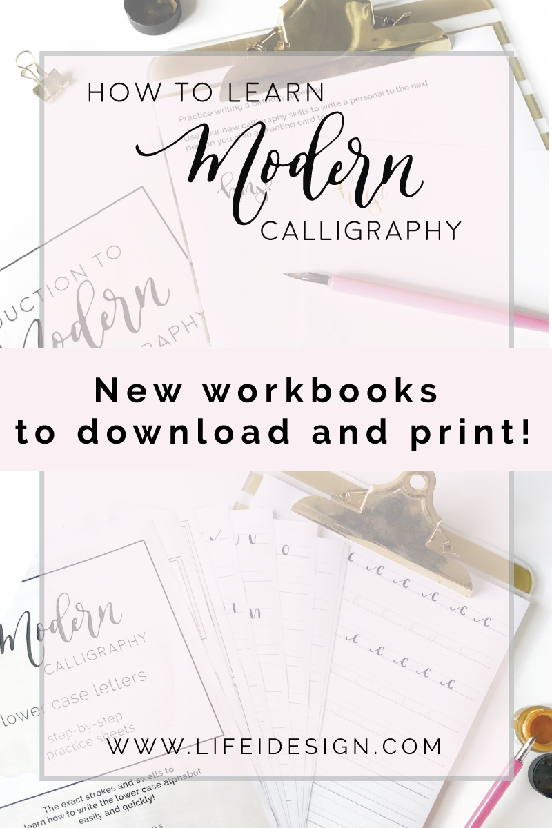 How To Learn Modern Calligraphy Nicki Traikos
