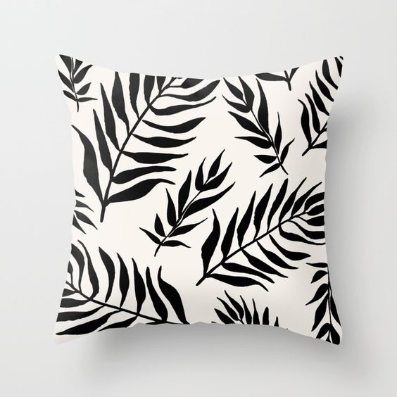 black palm leaf pillow.jpg