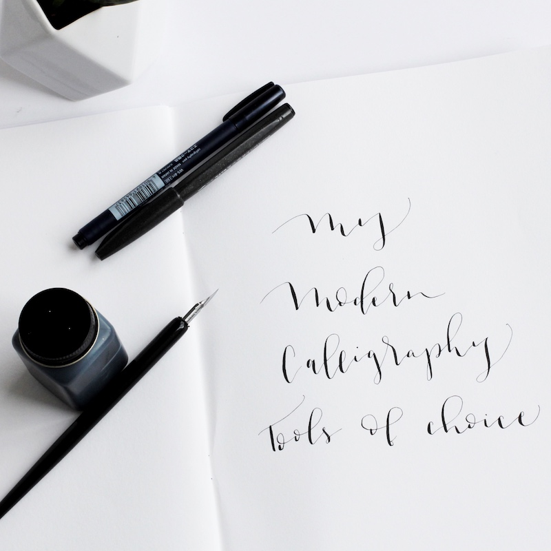 modern calligraphy tools by life i design.jpg