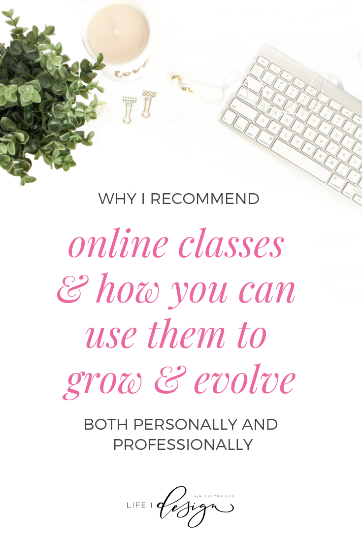 5 Reasons why I recommend taking online courses