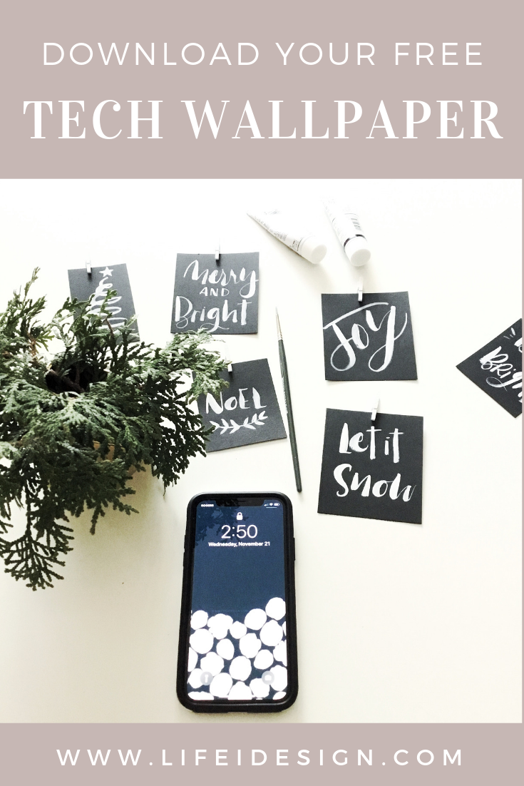 Download your free iPhone wallpaper background for November
