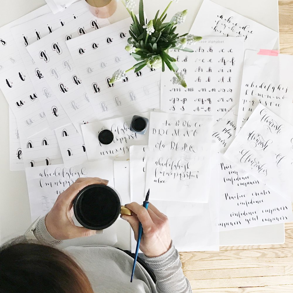 Spending 90 days learning calligraphy will have you writing quotes in no time!