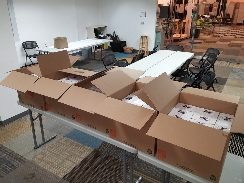 An order of 250 units of electronics kits for pinball machines, each containing 85 parts. Components were sourced from multiple suppliers and sorted at a thrid party assembly facility. Spot checks were performed in house to ensure quality before shipping.