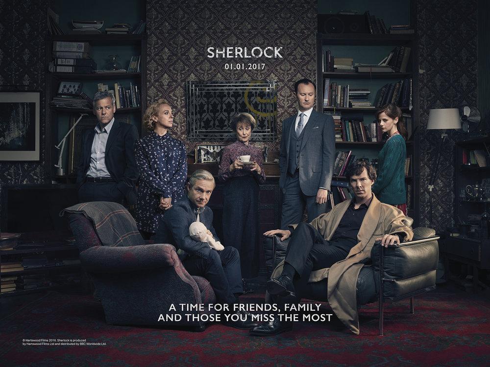 """TV Show """"Sherlock"""" Tableau"""