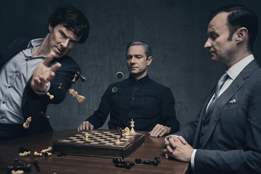 "TV Show ""Sherlock"" Editorial Portraits"