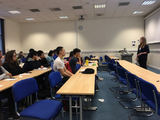 Undergraduate lecture and iGEM brainstorm session at Imperial College London