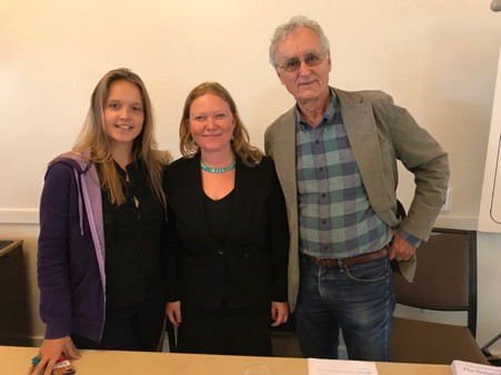 Capra Course teem meet together in San Francisco, where Fritjof is based.