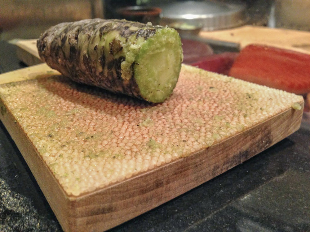 Fresh wasabi from Amagi mountains