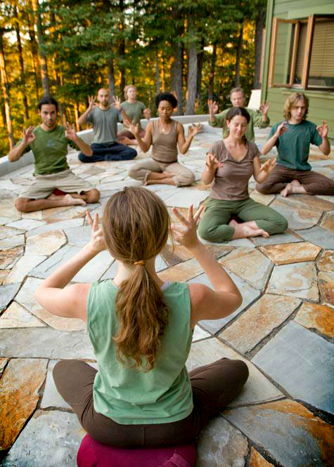 Ratna Ling Retreat Yoga Sonoma County