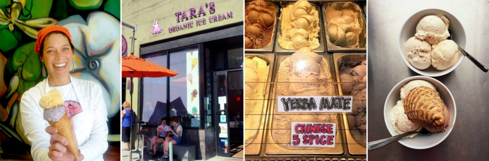 Taras Organic Ice Cream Berkeley California