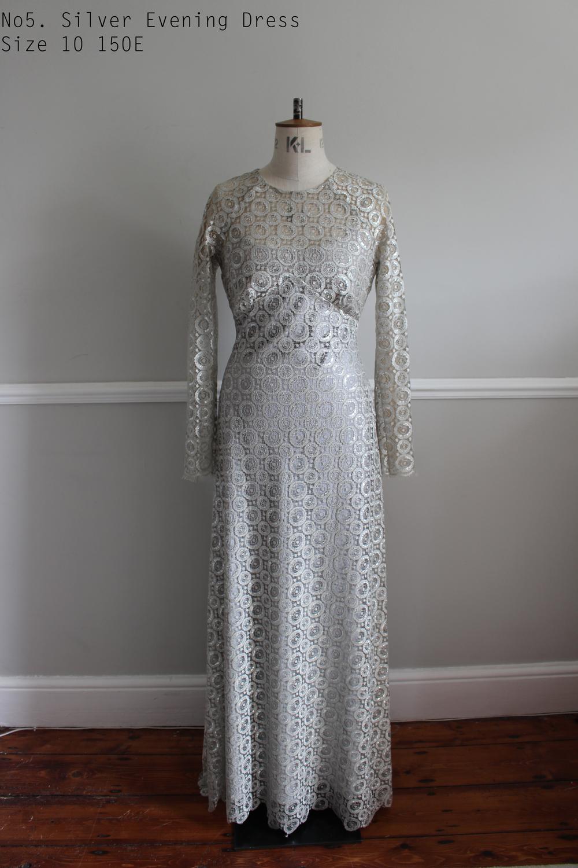 No5. Silver Evening Dress Size 10 150E  copy.jpg