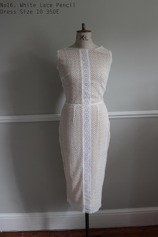 No16. White Lace Pencil Dress Size 10 350E.jpg