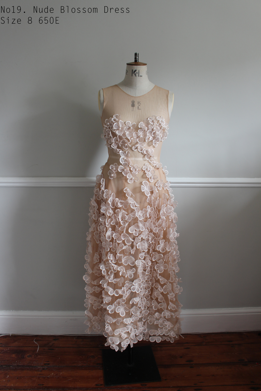 No19. Nude Blossom Dress Size 8 650E.jpg