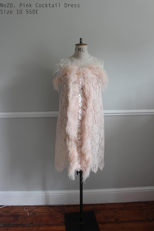 No20. Pink Cocktail Dress Size 10 550E  copy 2.jpg