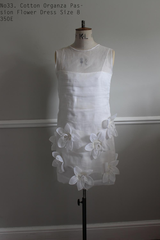 No33. Cotton Organza Passion Flower Dress Size 8 350E copy.jpg