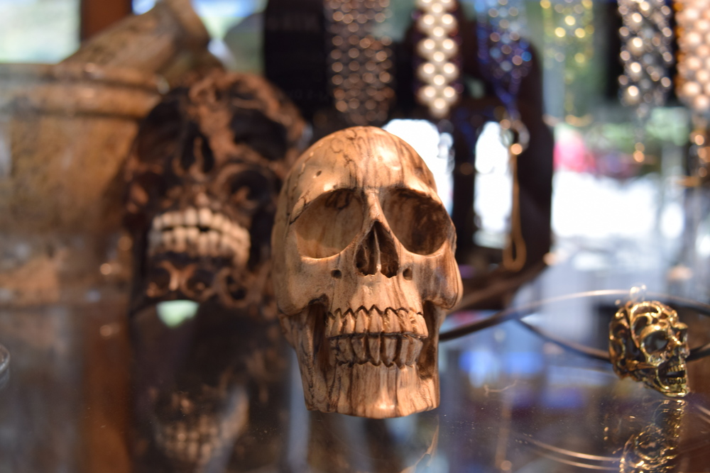 These creepy, intriguing, and accurate skull carvings just arrived