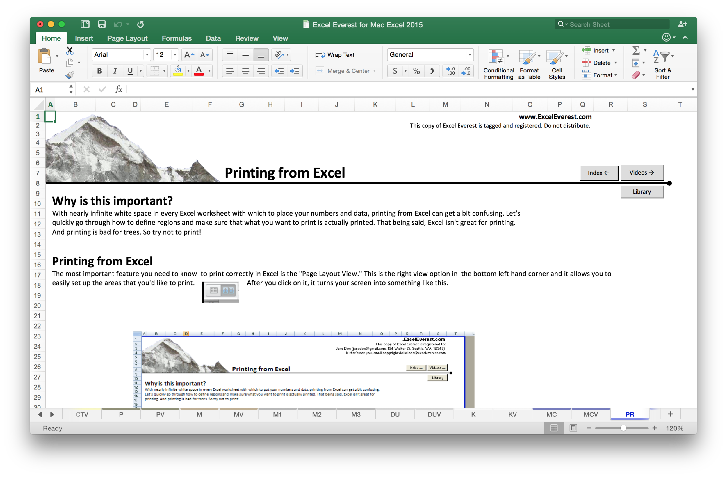 The topics covered in Excel Everest are deliberately designed to give you the practical skills you'll use in your everyday Excel journey. Excel Everest covered 41, hand-selected topics based on real business, research, and academic needs and examples.