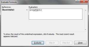 Excel-window