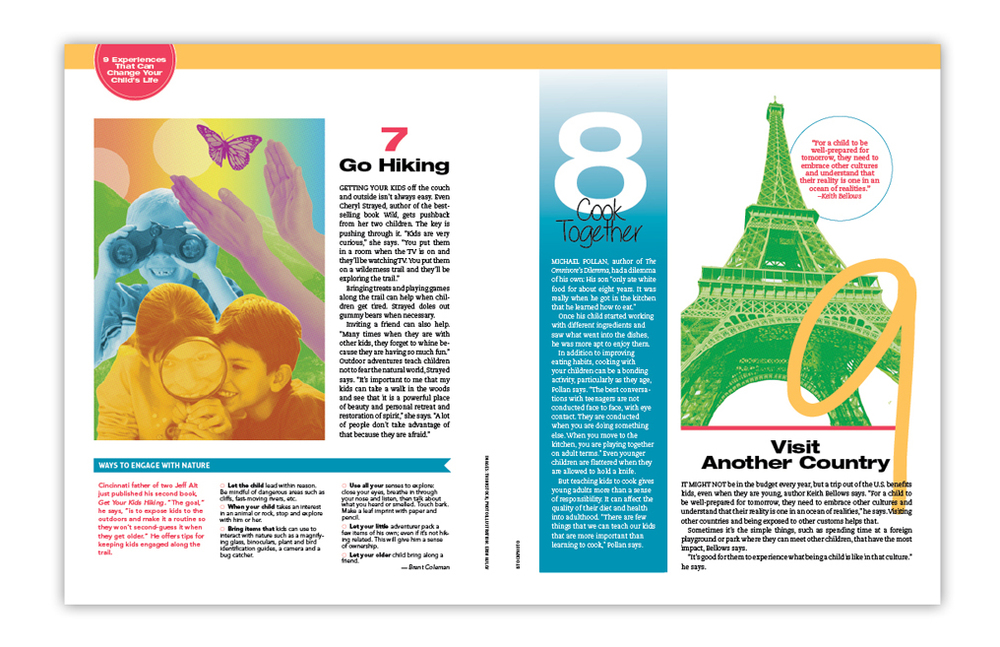 Concept, photoillustrations and layout design for feature story.