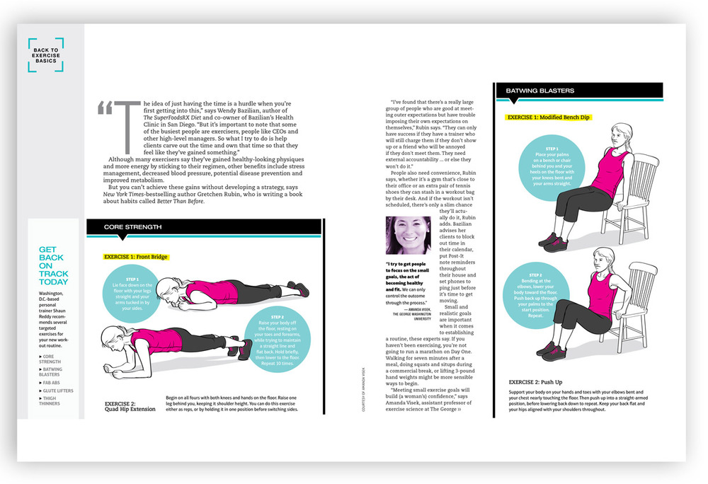 Art direction and layout design for feature story.