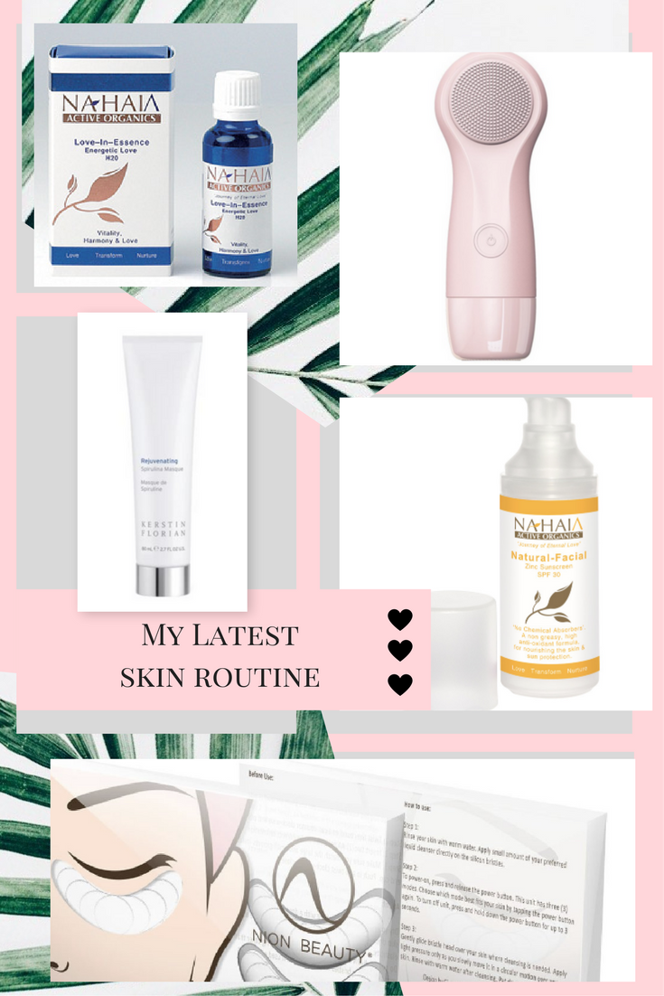 roseland chelsey rose health my latest skin care routine