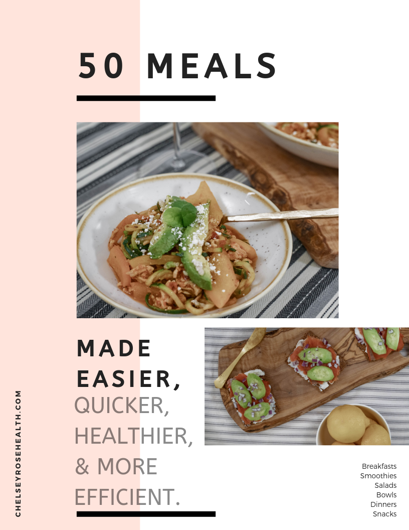 A recipe book for - busy moms and students who want to enjoy more food, more flavor, and less calories.
