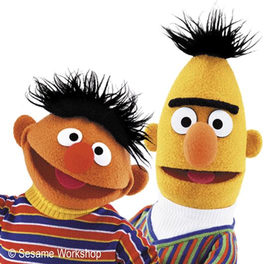Bert + Ernie = Bernie