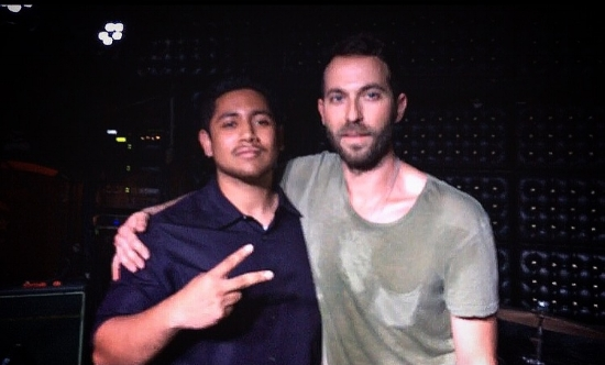 AMG writer Danny Perez and Mondo Cozmo.
