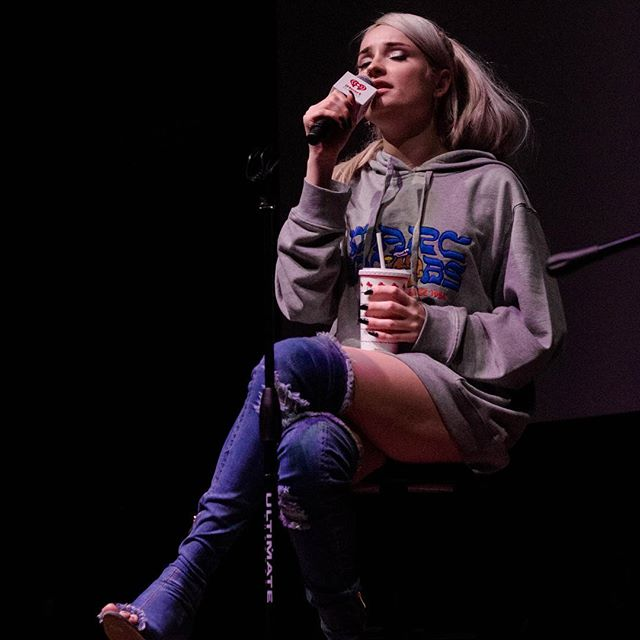 Some awesome shots and clips from our iHeartRadio Study Break with Kim Petras last week! Kim had so much insight and she totally rocked her performance! Hope you all enjoyed it! #iheartradiostudybreak