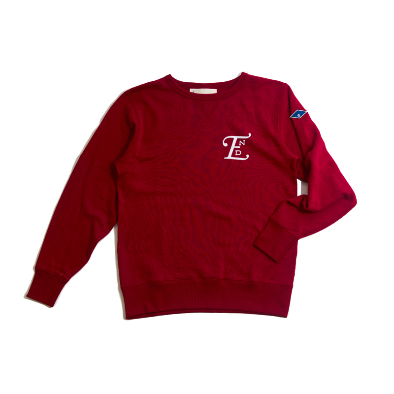 emblem LS sweater-red001.jpg