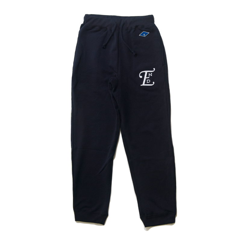 emblem sweater pants-navy001.jpg