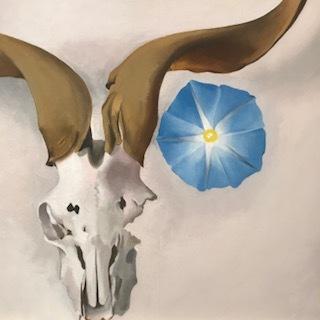 Ram's Head, Blue Morning Glory