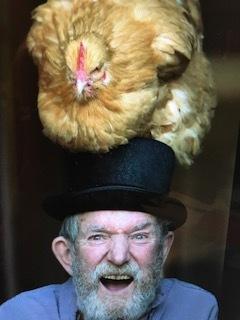 chicken on hat.JPG