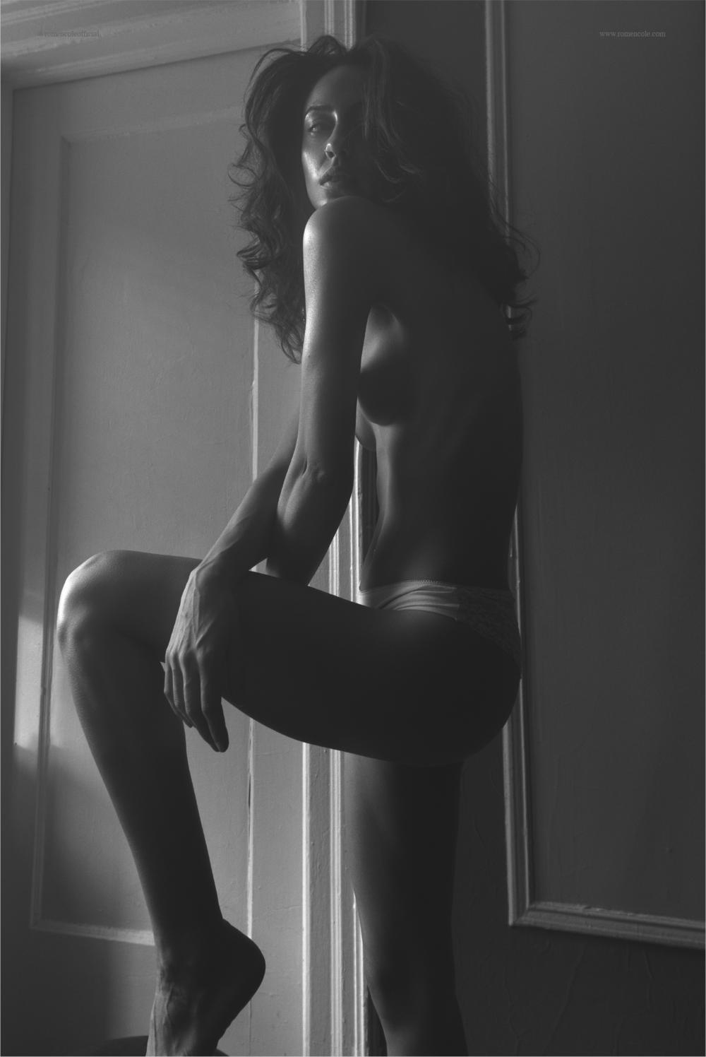 """Away"" webitorial; model - Nina B., published April 2017"