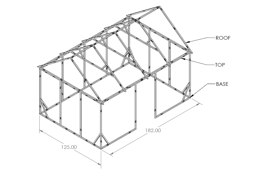 Assembly Drawing of Arche-TEXTures