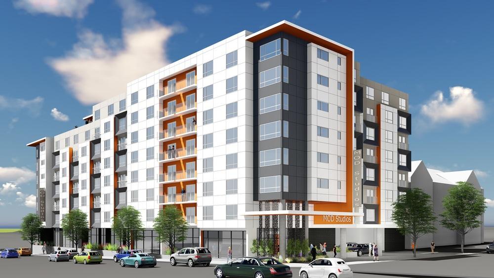 MOD 스튜디오 (시애틀 센터), 사우스 레이크 유니온, 시애틀   253- 유닛 스튜디오로 내부완비가 되어있는 아파트/ 법인주택이며 빌 & 멜린다 게이츠 재단, 아마존 그리고 사우스 레이크 유니온 (South Lake Union) 의 바이오텍 회사들과 도보거리에 위치해있습니다.