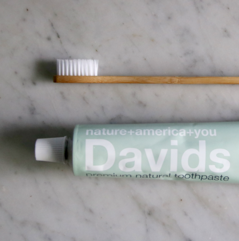 Davids natural zero waste toothpaste | Litterless